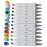 Sizzix Accesorio, Bolígrafos Permanentes 12PK (Colores Surtidos), , Única