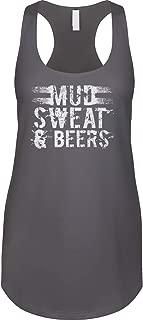 Womens Racerback Tank Mud Sweat & Beers