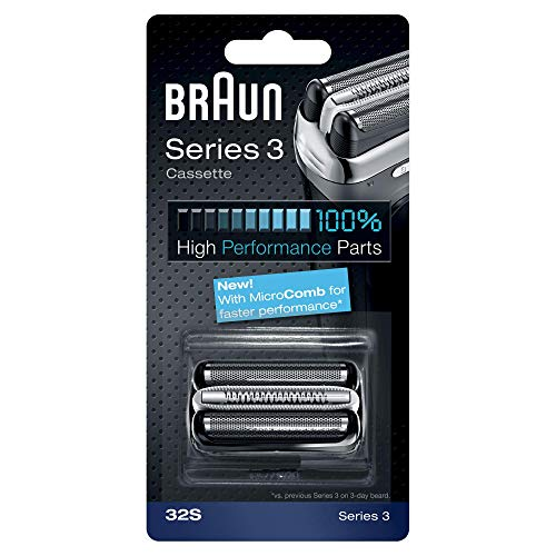 Price comparison product image Braun 32S Shaver Replacement Foil Cassette - Silver