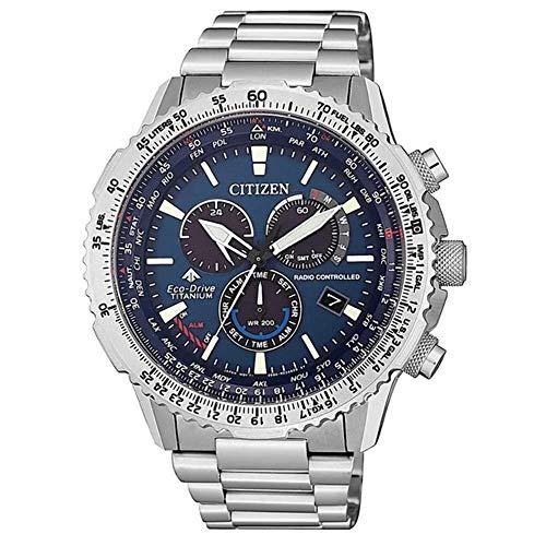 Reloj Radiocontrolado Crono Pilot Super Titanium