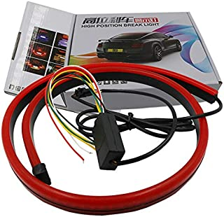 CAR BRAKE LIGHT TURN SIGNAL FLOWING LIGHT LED LAMP STRIP TAIL DECORATION