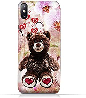 Xiaomi Mi Mix 2S TPU Soft Protective Silicone Case with My Teddy Bear Design