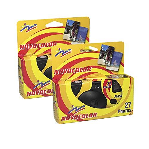 Novocolor, Cámaras Desechables con Flash