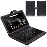 NAUC TrekStor Primetab P10 Tasche Tastatur Keyboard Hülle Cover Hülle Schutzhülle Etui