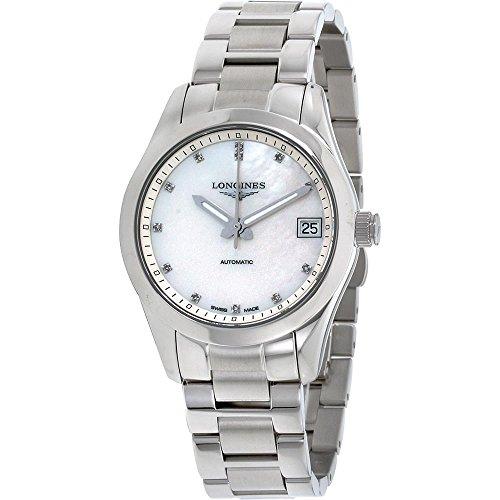 Longines Conquest Classic Damen-Armbanduhr Diamant 34mm Automatik L23854876