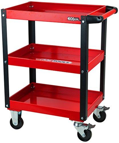 KS Tools 890.0001 ECOline Werkstatt-Servicewagen, H850xB680xT425mm