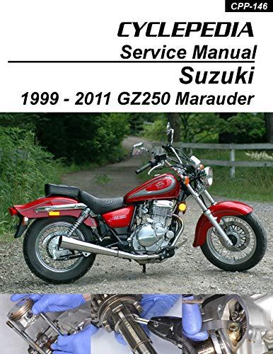 1999-2011 Suzuki GZ250 Marauder Service Manual (English Edition)