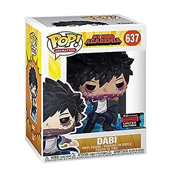 SHIR My Hero Academia Dabi Pop Vinyl Figure Model Collectible Multicolour