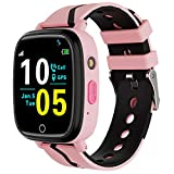 Kids Smart Watch,Children GPS Smartwatches with Call SOS Two-Way Music Alarm Clock Camera Games HD Camera Smart Watch for Children 4-12 Years Old Christmas Birthday Gifts for Kids