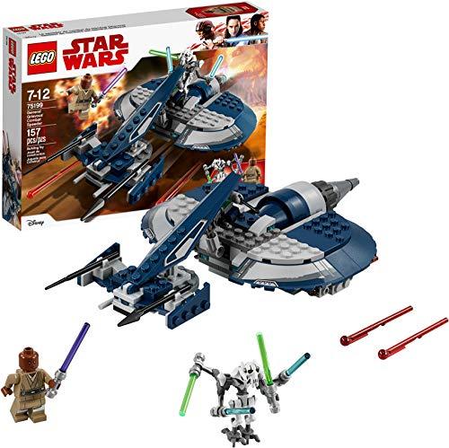 lego star wars grievous LEGO Star Wars: The Clone Wars General Grievous' Combat Speeder 75199 Building Kit (157 Piece)