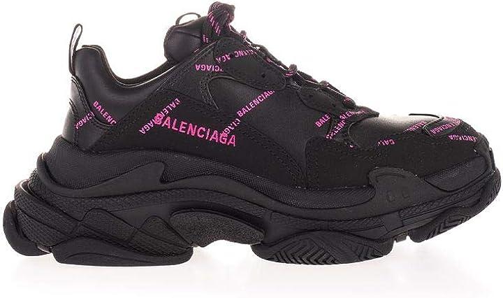 Scarpe balenciaga luxury fashion donna 524039w2fa11050 nero poliuretano sneakers   autunno-inverno B08CS16WVH