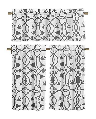 cortina 2 piezas fabricante Duck River Textile