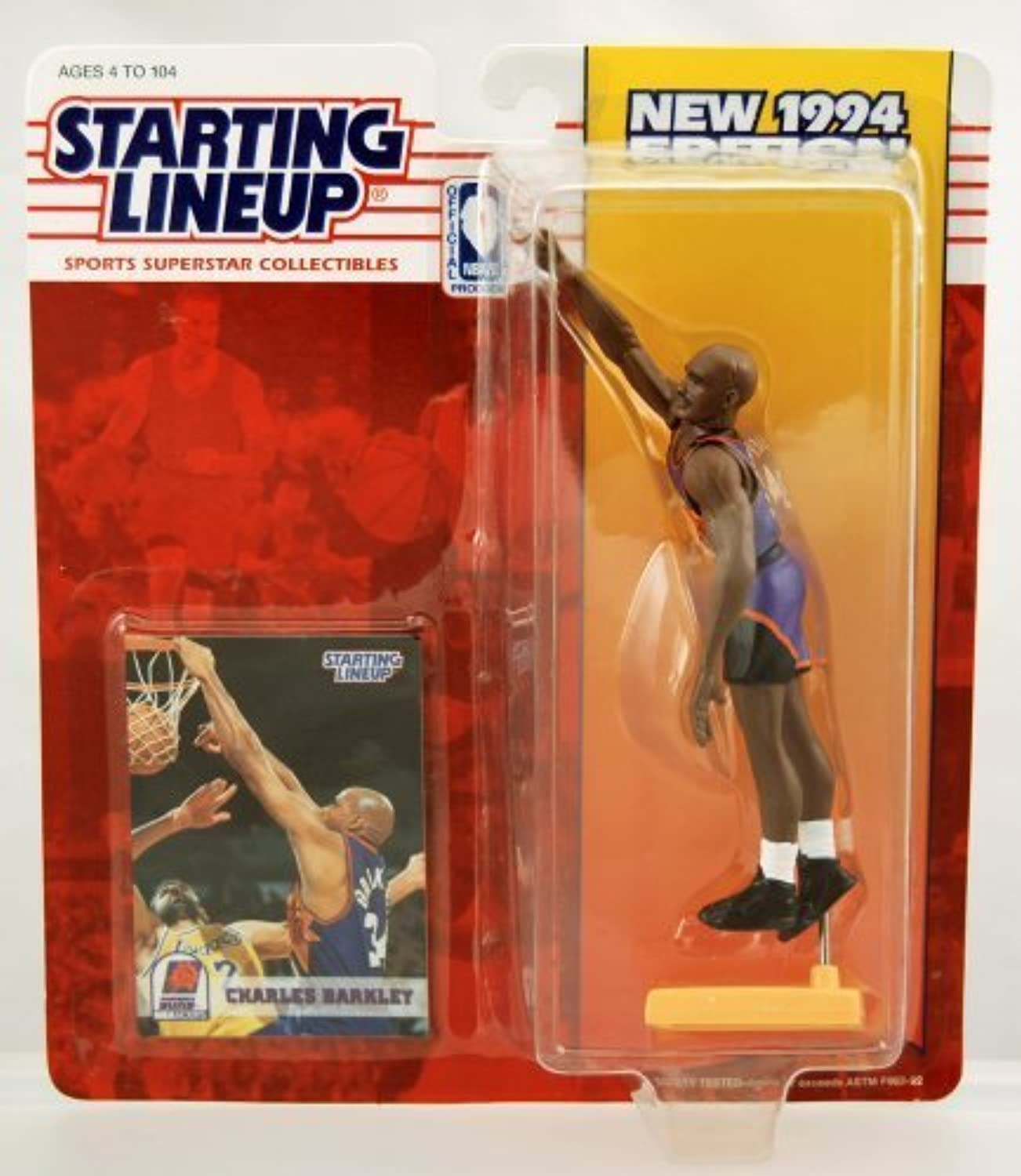 Starting Lineup Sports Superstar Collectibles Charles Barkley 1994 by Starting Line Up