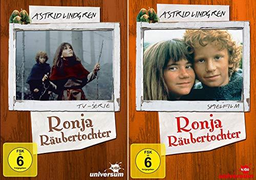 Astrid Lindgren Edition: Ronja Räubertochter - Spielfilm + TV-Serie [2er DVD-Set]