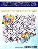 Jumbo Dinosaur Coloring Book: 50 Coloring Stegosaurus, Citipati, Triceratops, Mosasaurus, Apatosaurus, Muttaburrasaurus, Nodosauridae, ... Picture Quizzes Words Activity Coloring Book