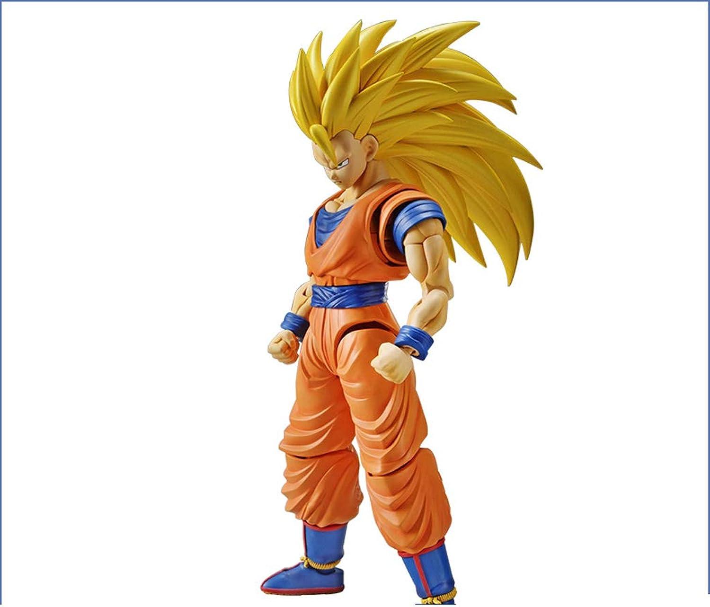 precio al por mayor Qivor Qivor Qivor Estatua de Juguete Dragon Ball Juguete Saiyan Estatua súper Saiyan 3 Anime Gomi del Sol Alrojoedor de 18 CM  mejor calidad