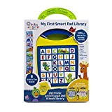 Baby Einstein - My First Smart Pad Library Electronic Activity Pad and 8-Book Library - PI Kids