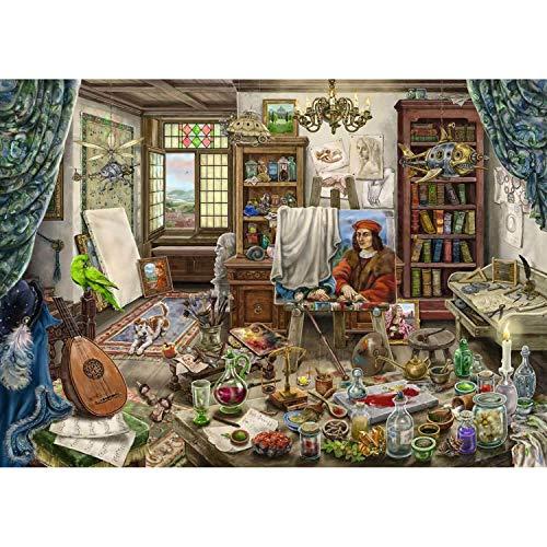 Ravensburger Puzzle 759 pièces : Escape Rompecabezas: Atelier d'artiste