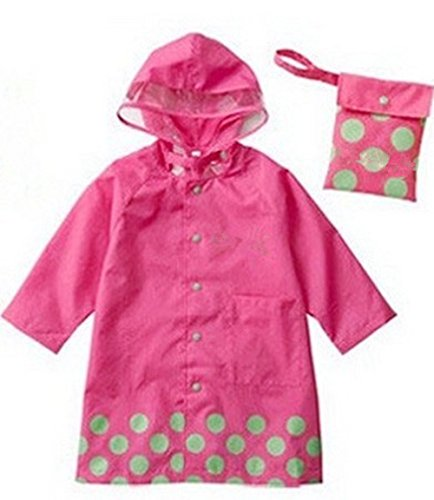 SKL Unisex Kid 's Moda impermeable Cartoon chubasquero