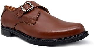 أحذية YZBuyer للرجال من جلد البقر الرسمية بدون رباط للارتداء العادي