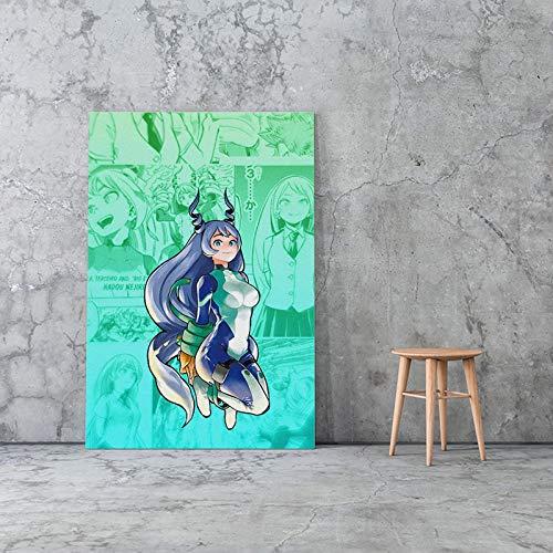 wopiaol Kein Rahmen Nejire Hado My Hero Academia Anime Leinwand Poster Malerei Wandkunst Dekor Wohnzimmer Schlafzimmer Studie Home Decoration Prints