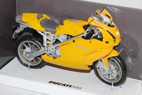 New Ray Ducati 999 Testastretta Superbike Gelb 2003-2006 1/12 Modell Motorrad Modell Auto
