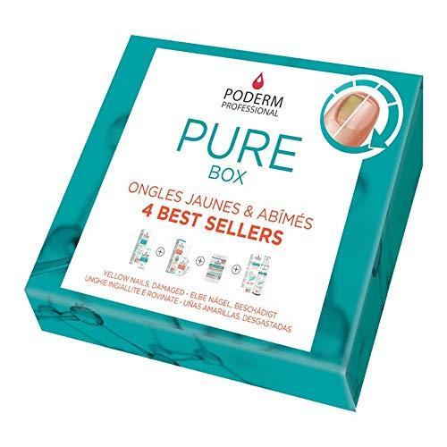 PODERM - MICOSI UNGHIE KIT COMPLETO - Pure Box – Siero Purificante + Siero booster + Spray Purificante + Integratore Alimentare – Prodotto in Svizzera