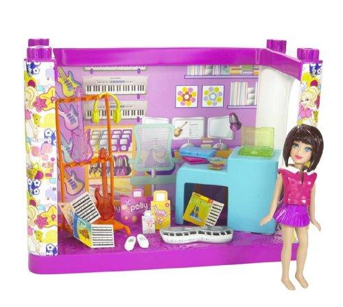 Polly Pocket (N7258) Designables Musik Shop Puppe Spielset