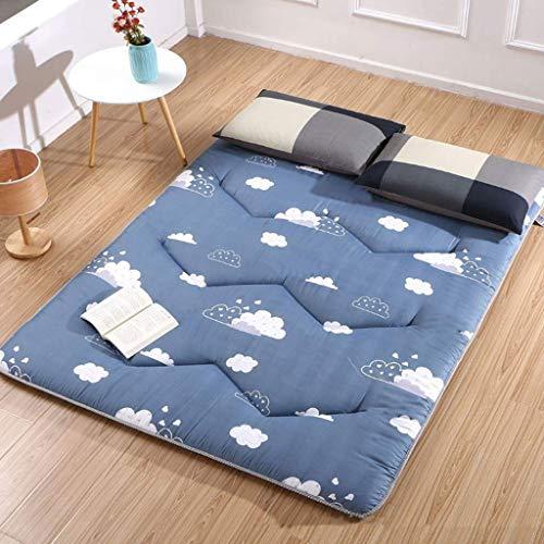 Doux Japanse Futon matras, inklapbaar en oprolbaar, matras voor futon, gewatteerd, ruimtebesparend 200x100cm(79x39inch) B