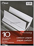 Schwarz Carbon Mill Finish Papier