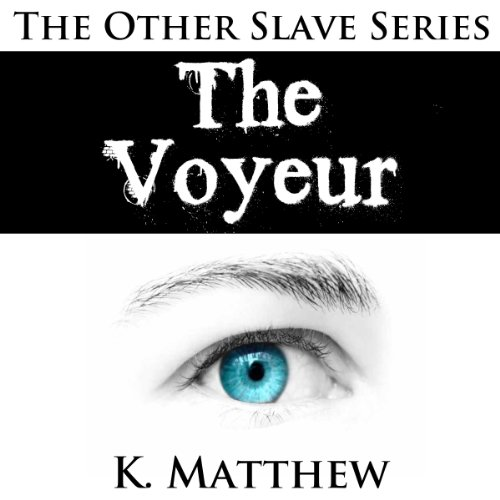 The Voyeur  audiobook cover art