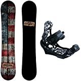 Camp Seven Drifter Snowboard with System APX Bindings Men's Snowboard Package (156 cm)