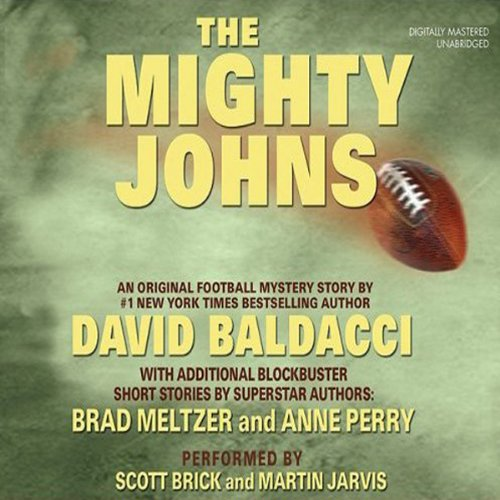 The Mighty Johns and Other Stories audiobook cover art