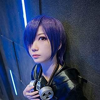 SiYi Blue Short Bob wigs Anime Tokyo Ghoul Tokyo Guru Toka Kirishima Touka Cosplay Wig Shuu Tsukiyama Costume Halloween wig
