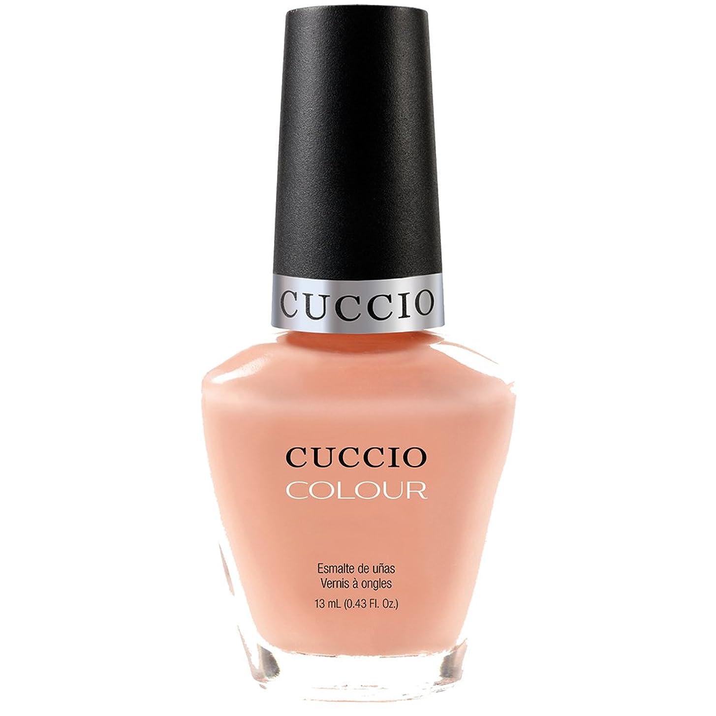 忠実有名溶融Cuccio Colour Gloss Lacquer - Life's A Peach - 0.43oz / 13ml