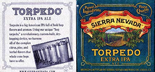 175 Pack of Sierra Nevada Torpedo Extra IPA Ale Double Sided Coasters
