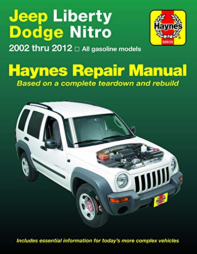 Jeep Liberty & Dodge Nitro 2002-2012 Haynes Repair Manual: (does Not Include Information Specific to Diesel Models)