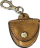 Porte-médiators Porte-clés en cuir véritable Pistoia Blues Limited Ed. - Etabeta Artigiano Toscano - Made in Italy (marron claire)