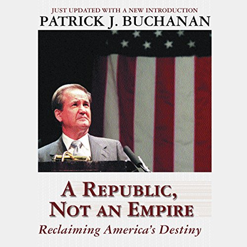 A Republic, Not an Empire audiobook cover art