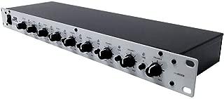 Monoprice 8-Channel 1U Mic Line Rack Mixer with Phantom Power