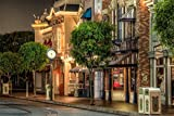 Rompecabezas De 1000 Piezas Disneyland Street Classic Puzzle 3D Puzzle Kit De Bricolaje Juguete De Madera Regalo Único Decoración Para El Hogar