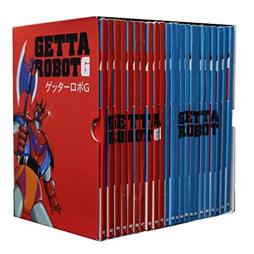 Getta Robot - The Original DVD Collection - Collezione completa 23 DVD - Yamato Video - Editorale Corriere della sera