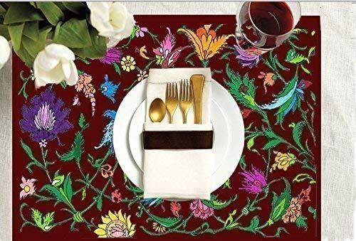 Adult Coloring Placemats Large discharge sale -Wildflower Design La Sale on sale Includes