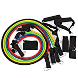 FORUU on Sale Resistance Band Training Workout at Home Fitness Strength Training Multi Function Rally Elastic Rope Resistance Band Arm Leg Full Body Workout for Holiday Home Weight Loss Best Gift