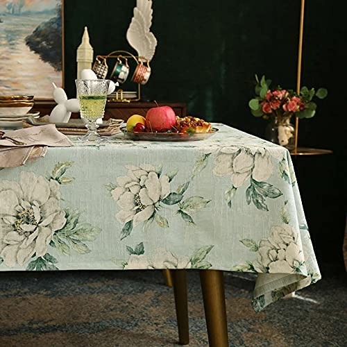 Light Luxury Printing Flowers and OFFicial quality assurance mail order Tablecloth European Birds Styl