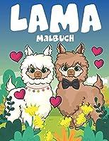 Lama Malbuch: Ausmalbuch fuer Erwachsene und kinder, Jungen und Maedchen.