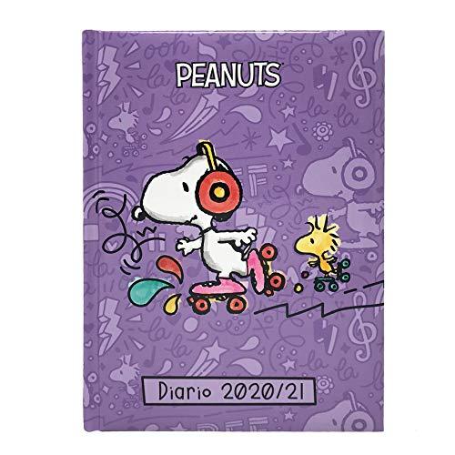 Set di matite Snoopy motivo: Snoopy colore: Rosso // Nero 19/cm Confezione da 6