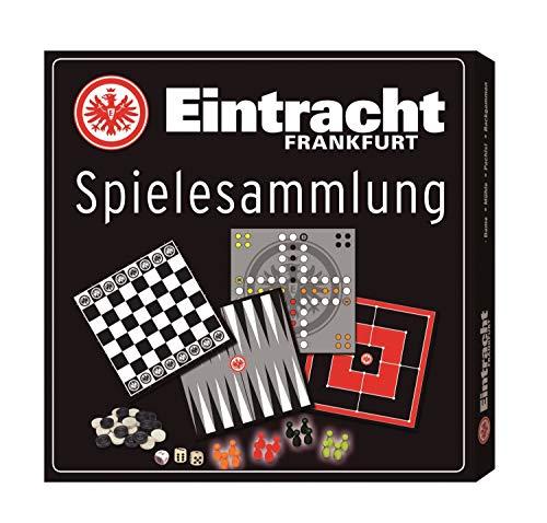 Eintracht Frankfurt Spielesammlung, Gesellschaftsspiel, Würfelspiel SGE - Plus Lesezeichen I Love Frankfurt