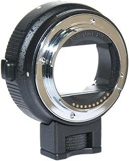 JINTU Auto Focus EF-NEX II EF-EMOUNT FX - Adaptador de Montura para Lente Canon EF EF-S a Sony E Mount NEX 3/3N/5N/5R/7/A7 A7R