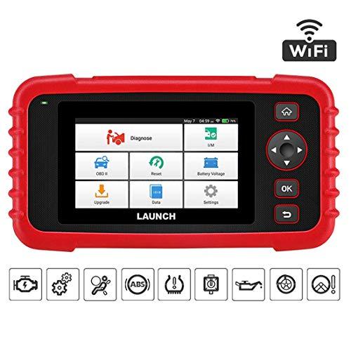 LAUNCH CRP129X Herramienta Diagnosis Profesional OBD Detección AutoVIN Sistemas Motor Transmisión ABS SRS Airbag EPB SAS TPMS Ajuste Acelerador Actualizaciones por Wi-Fi en Español (Nuevo CRP129)